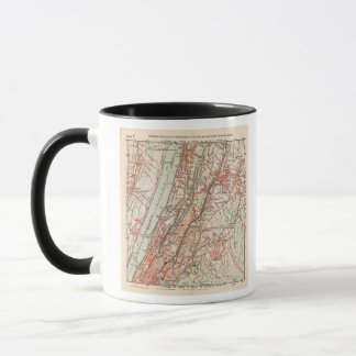 Bicycle Roads in New York and Conneticut 3 Mug