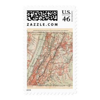 Bicycle Roads in New York and Conneticut 3 Stamps