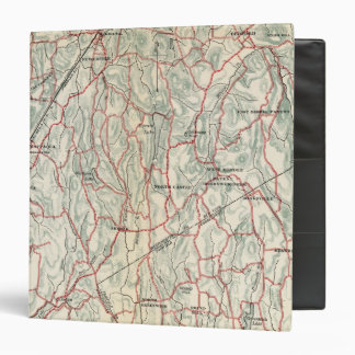 Bicycle Roads in New York and Conneticut 3 Ring Binder