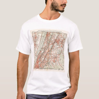 Bicycle Roads in New York and Conneticut 3 T-Shirt