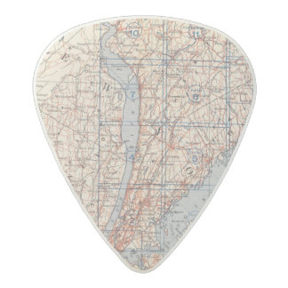 Bicycle Roads in New York and Conneticut 4 Acetal Guitar Pick
