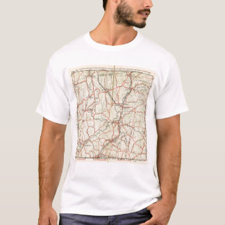 Bicycle Roads in New York and Conneticut 4 T-Shirt