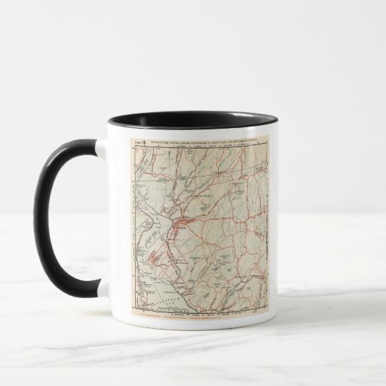 Bicycle Roads in New York and Conneticut 5 Mug