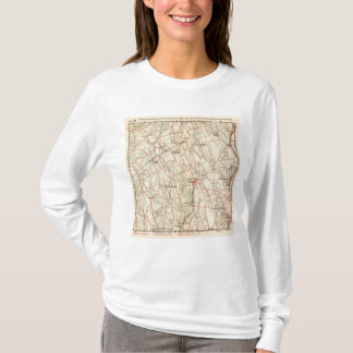 Bicycle Roads in New York and Conneticut 5 T-Shirt