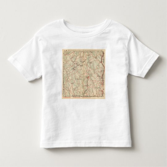Bicycle Roads in New York and Conneticut 5 Toddler T-shirt