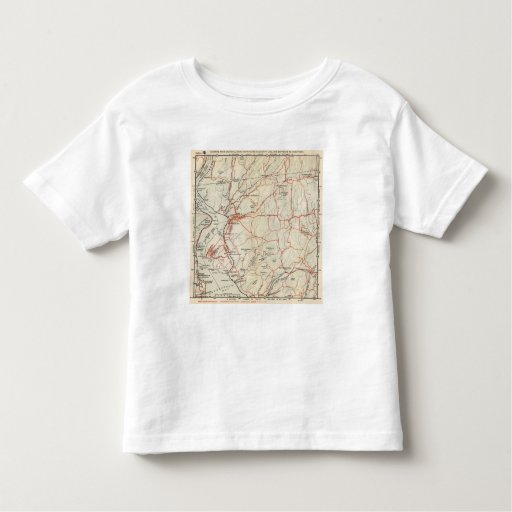 Bicycle Roads in New York and Conneticut 5 Tshirts