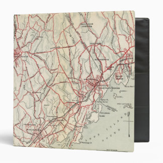 Bicycle Roads in New York and Conneticut 6 Binder