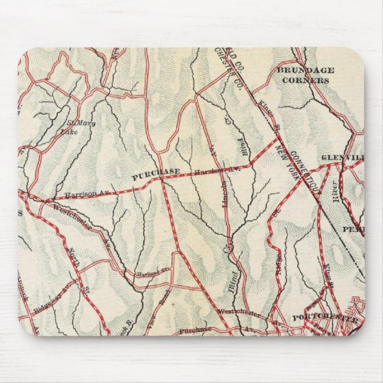 Bicycle Roads in New York and Conneticut 6 Mouse Pad