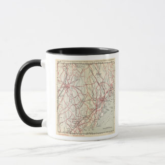 Bicycle Roads in New York and Conneticut 6 Mug