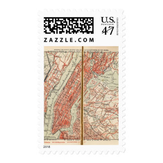 Bicycle Roads in New York and Conneticut 6 Postage