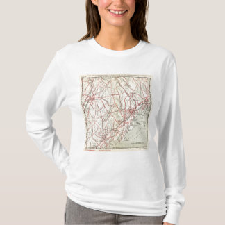 Bicycle Roads in New York and Conneticut 6 T-Shirt