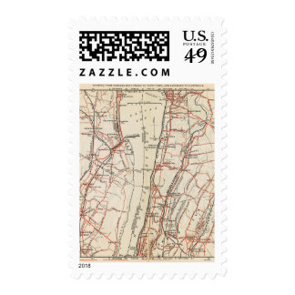 Bicycle Roads in New York and Conneticut 7 Stamp