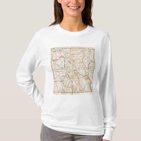 Bicycle Roads in New York and Conneticut 7 T-Shirt