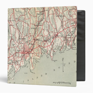 Bicycle Roads in New York and Conneticut 8 3 Ring Binder