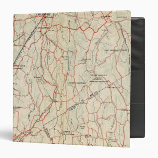 Bicycle Roads in New York and Conneticut 8 Binder