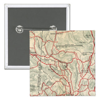 Bicycle Roads in New York and Conneticut 9 Pinback Button