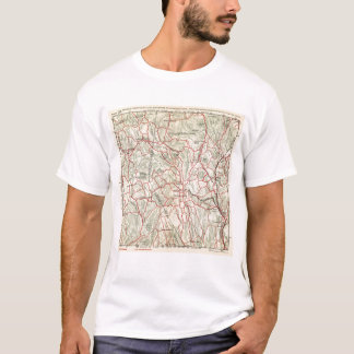 Bicycle Roads in New York and Conneticut 9 T-Shirt