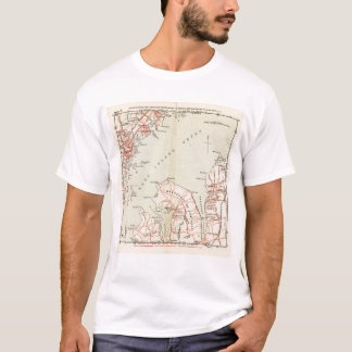 Bicycle Roads in New York and Conneticut T-Shirt