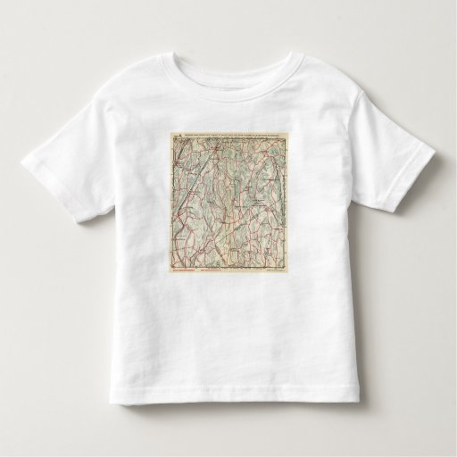 Bicycle Roads in New York and Conneticut Toddler T-shirt