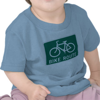 Bicycle Route Infant T-Shirt