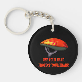 Bicycle Safety Key Chain