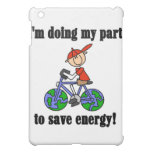 Bicycle Save Energy and Gifts iPad Mini Covers