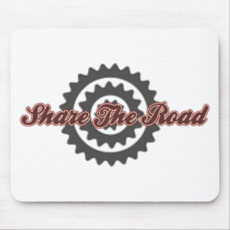 Bicycle Share The Road Mouse Pad