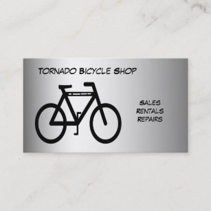 Race bicycles business cards templates zazzle bicycle shop business card colourmoves