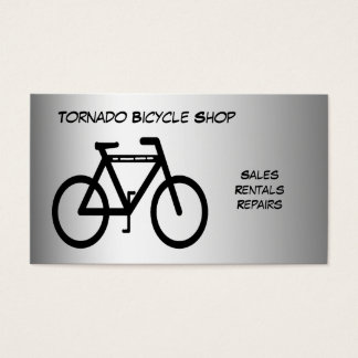 Bicycle Shop Business Card