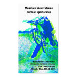 Bicycle Shop or Outdoor Sports Store Business Cards