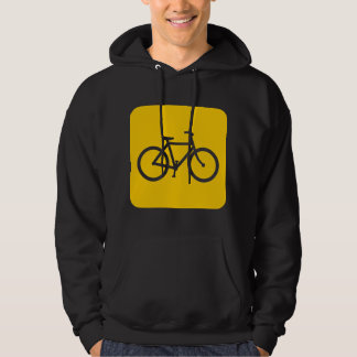 Bicycle Sign - Amber Hoodie