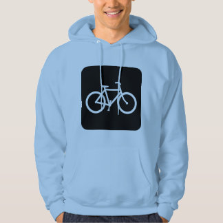 Bicycle Sign - Black Hoodie