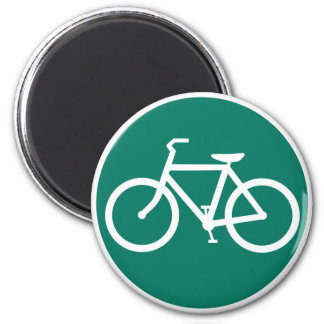bicycle sign magnet