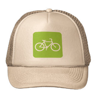 Bicycle Sign - Martian Green Trucker Hat