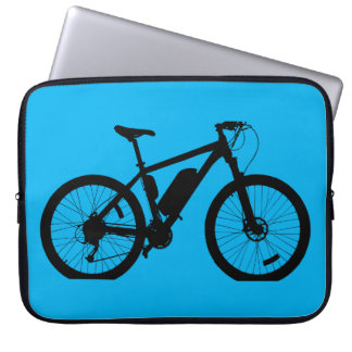 Bicycle Silhouette Computer Sleeve