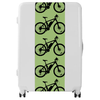 Bicycle Silhouette Luggage