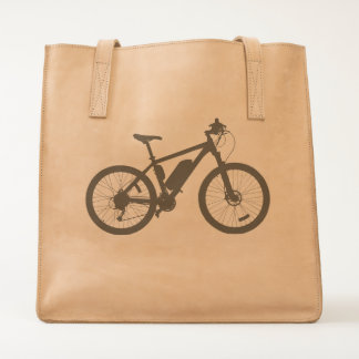 Bicycle Silhouette Tote