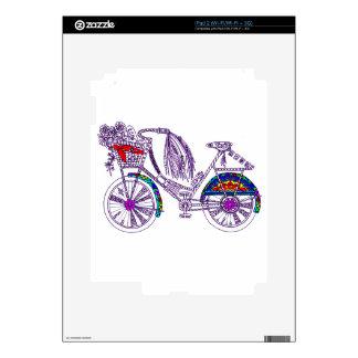Bicycle Skin For iPad 2