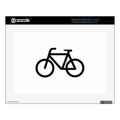 Bicycle Skin For Small Netbook