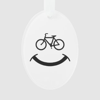 Bicycle Smile Ornament