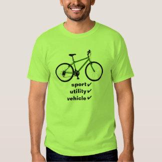bicycle: sport utility vehicle shirt