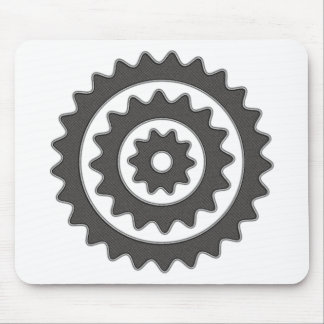 Bicycle Sprockets Mouse Pad