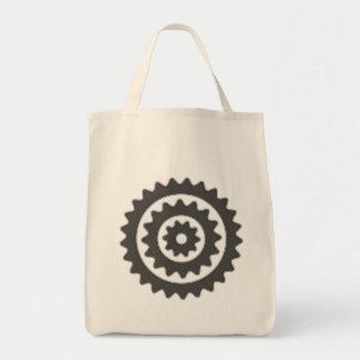 Bicycle Sprockets Tote Bag