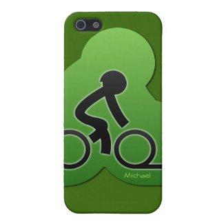 Bicycle street biking iPhone 5 cases