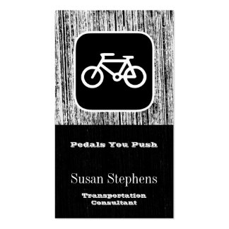 Bicycle Symbol Business Card