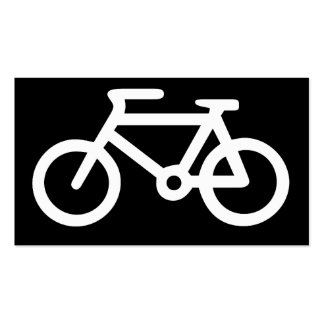 Bicycle Symbol Business Cards