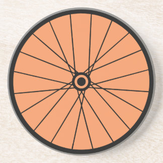 BICYCLE TIRE COASTER