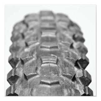 Bicycle Tire Tread Closeup Card