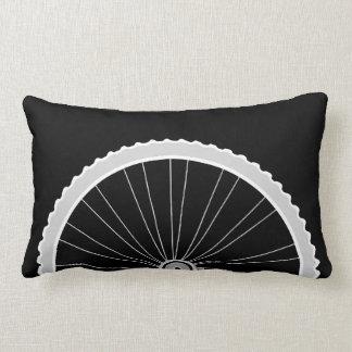 Bicycle Tire Wheel Rectangle Throw Pillow