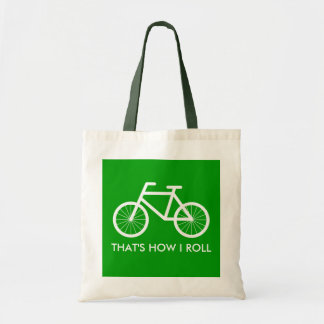 Bicycle tote bag for bike riding enthusiasts